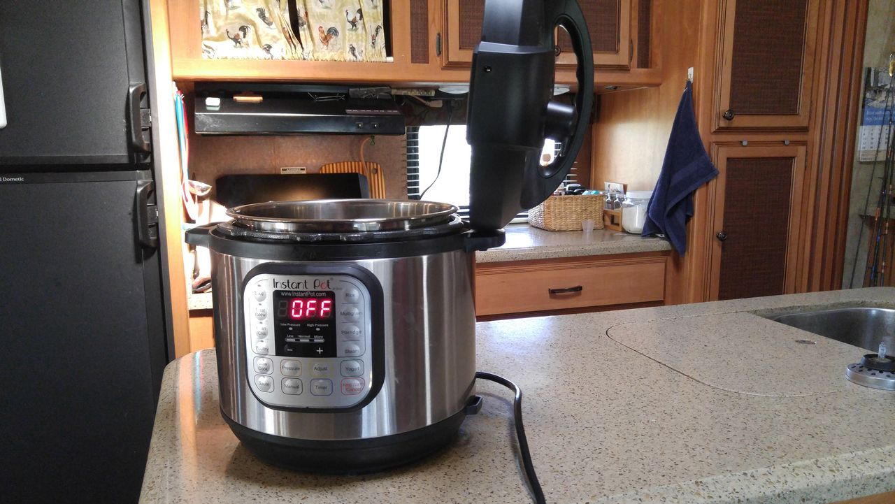 Cooking in an Instant Pot is awesome and amazing
